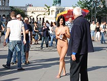 Nude Chick In Public 4