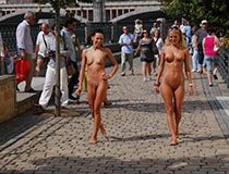 Crazy Girls Nude In Public 3