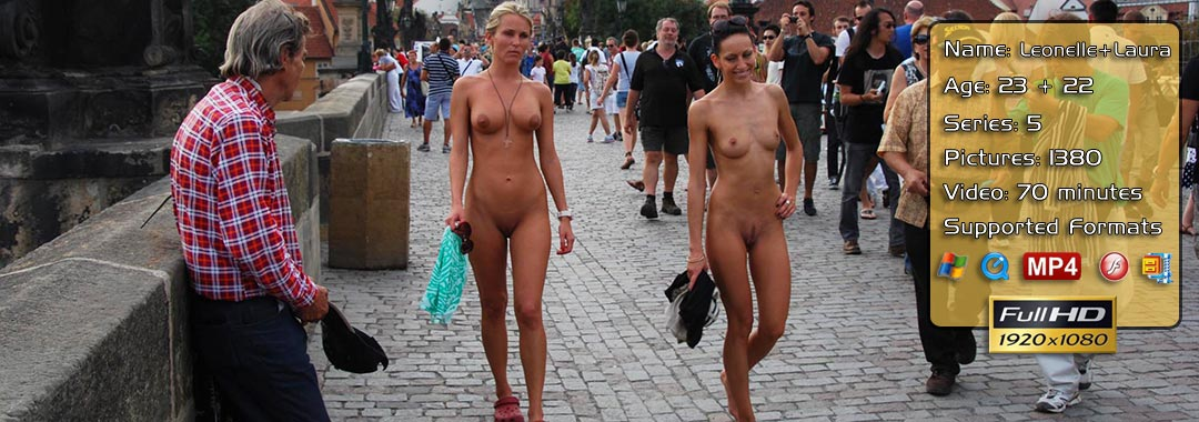 Leonelle And Laura Naked In Prague