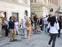 Girls Nude In Public Of Blonde 4
