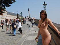 Nude In Public Videos With Monalee 9