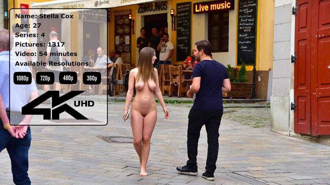 The Amazing Stella Cox Nude In Public