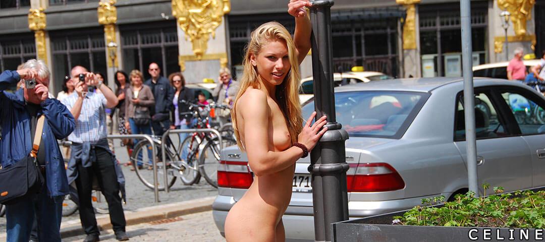 Blonde Celine