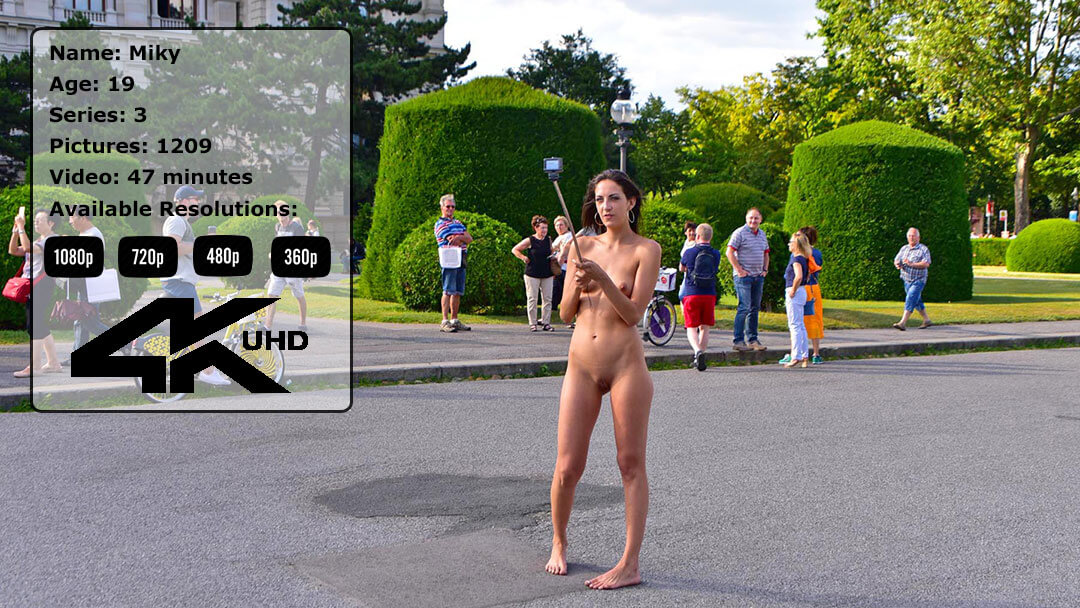 Sexy Slim Teen Miky Nude In Public